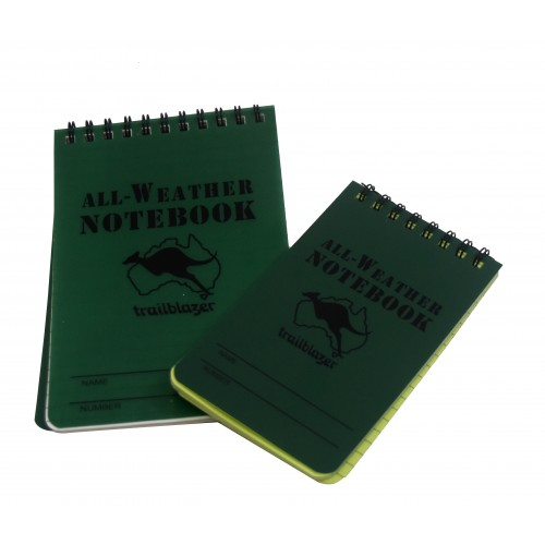 WATERPROOF NOTEBOOK 15 cm