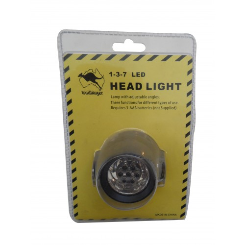 LED HEADLAMP 1-3-7 Lights