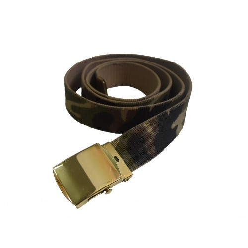 BELT Military Officers style (CAMO/GOLD)