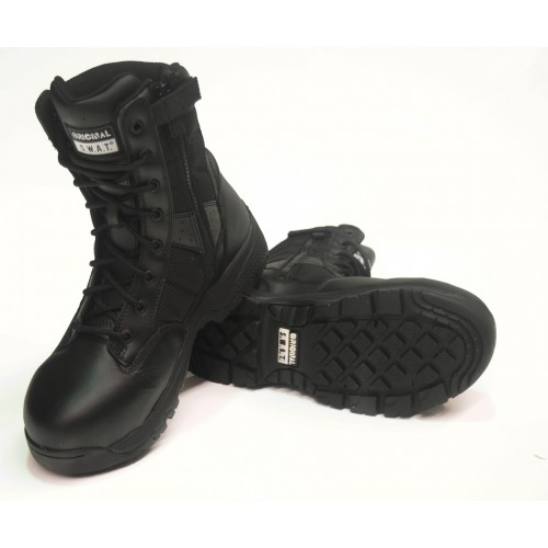 "SWAT 9"" METRO COMPOSITE PROTECTIVE TOE w/Side zip"